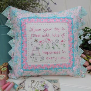 Quilting Sewing Cushion Pattern HAPPY BIRTHDAY Rivendale Collection