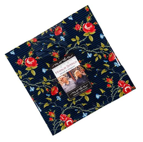 Quilting LAYER CAKE Patchwork MODA HARBOR SPRINGS 10 Inch Fabrics