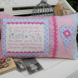 Quilting Sewing Cushion Pattern PRECIOUS DAUGHTER Rivendale Collection