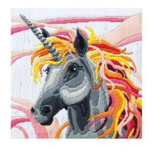 Country Threads Long Stitch Kit UNICORN FLS-5027 Inc Threads