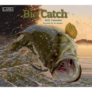 Lang 2021 Calendar BIG CATCH Calender Fits Wall Frame