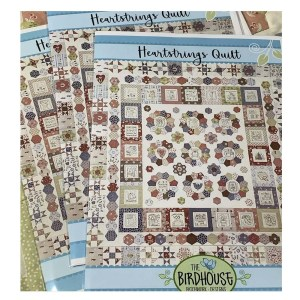 The Birdhouse Designs Quilting Sewing HEARTSTRINGS Quilt Pattern