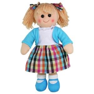 Hopscotch Lovely Soft Rag Doll ELOISE Girl Dressed Doll Large 35cm