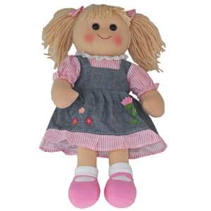 Hopscotch Lovely Soft Rag Doll MADDIE Girl Dressed Doll Large 35cm