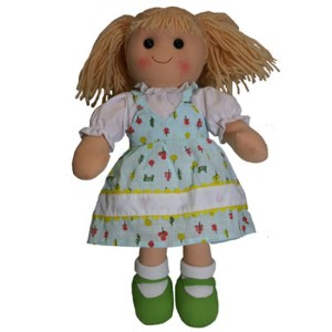 Hopscotch Lovely Soft Rag Doll PIPPA Girl Dressed Doll Large 35cm
