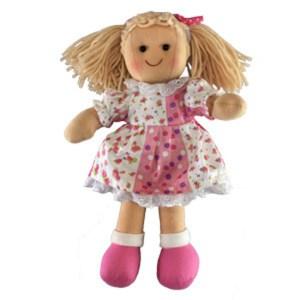 Hopscotch Soft Rag Dressed Doll SIENNA Girl Doll Medium 25cm