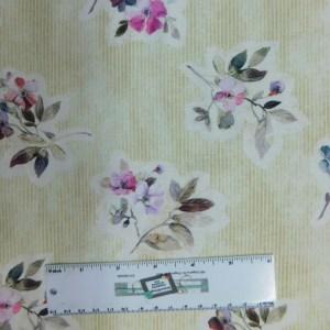 Quilting Patchwork Fabric JASMINES GARDEN 1 50x55cm FQ Material