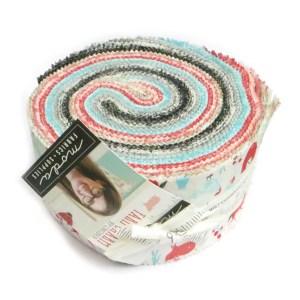 Quilting Jelly Roll Patchwork MODA FARM CHARM 2.5 Inch Sewing Fabrics