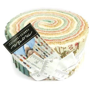 Quilting Jelly Roll Patchwork MODA REGENCY ROMANCE 2.5 Inch Sewing Fabrics