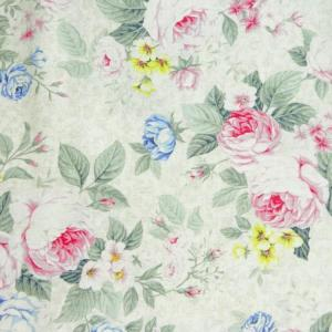 Patchwork Quilting Sewing Fabric SPRING ROMANCE Roses Allover FQ 50x55cm New Material