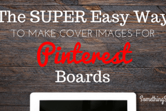 Pinterest Board Cover