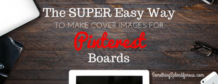 Pinterest Board Cover
