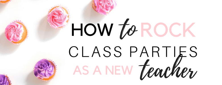 How to Rock Class Parties as a New Teacher How to Rock Your Classroom Parties Free Classroom Party Printable template www.somethingsplendiferous.com