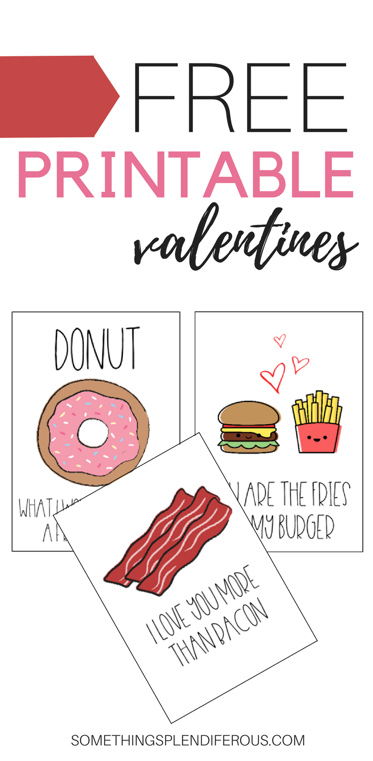 photo relating to Free Printable Funny Valentines Day Cards known as Nearly anything Splendiferous