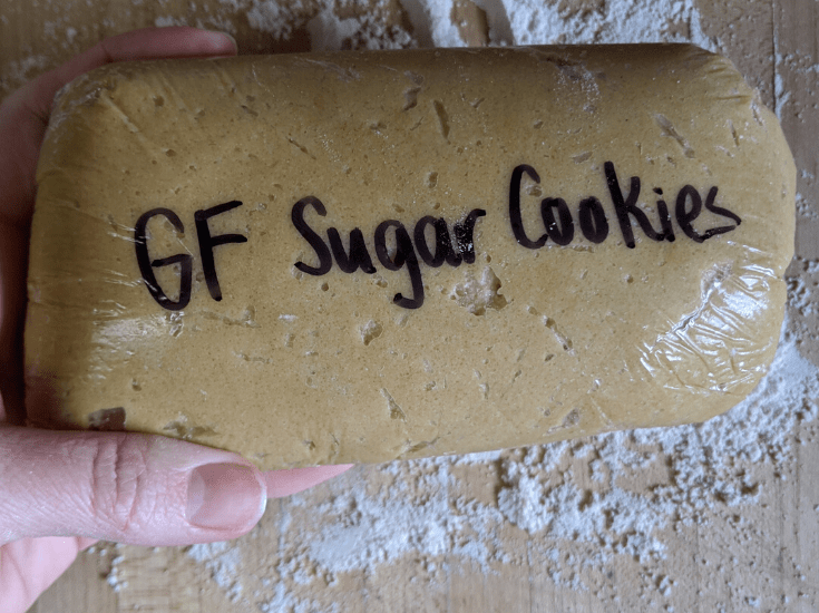 gluten free sugar cookie no gluten free flour required