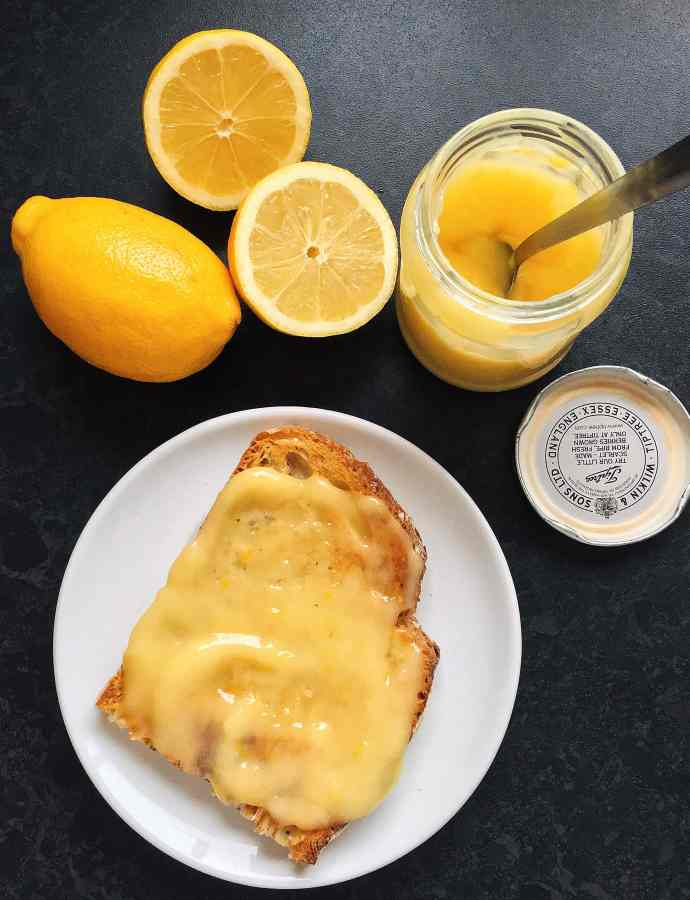 Easy 4 minute microwave lemon curd