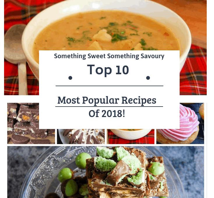 Top Ten Most Popular Recipes Of 2018