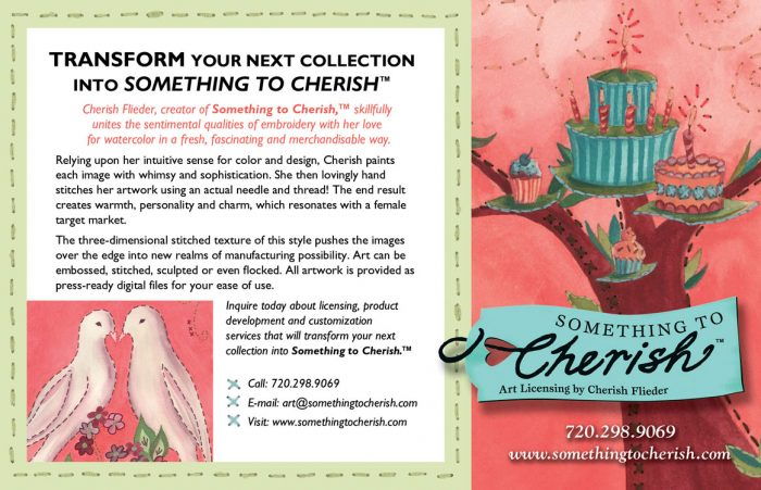 Something to Cherish Total Art Licensing May 2008 Feature