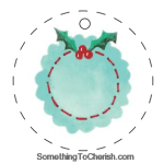 Easy Embroidery Printable Christmas Tags Craft Download