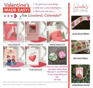 Valentine's Day Ribbons, Cards, Journals
