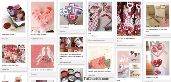2012 Valentine's Pinterest Day to Cherish
