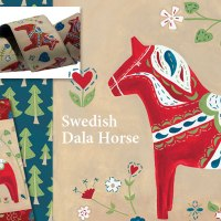 Swedish Dala Horse Collection
