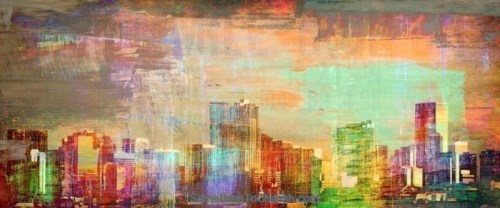 Denver Skyline by Brandi Fitzgerald