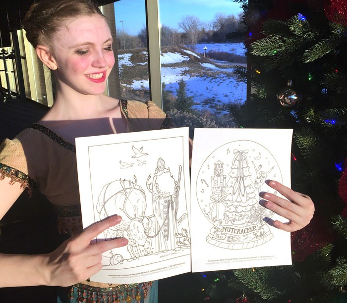 Free Nutcracker Ballet Coloring Page Download
