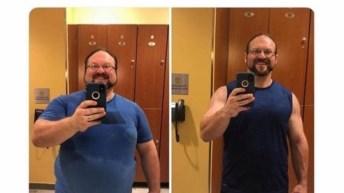 Losing weight tweet