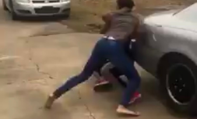 Brother and sister get beat up
