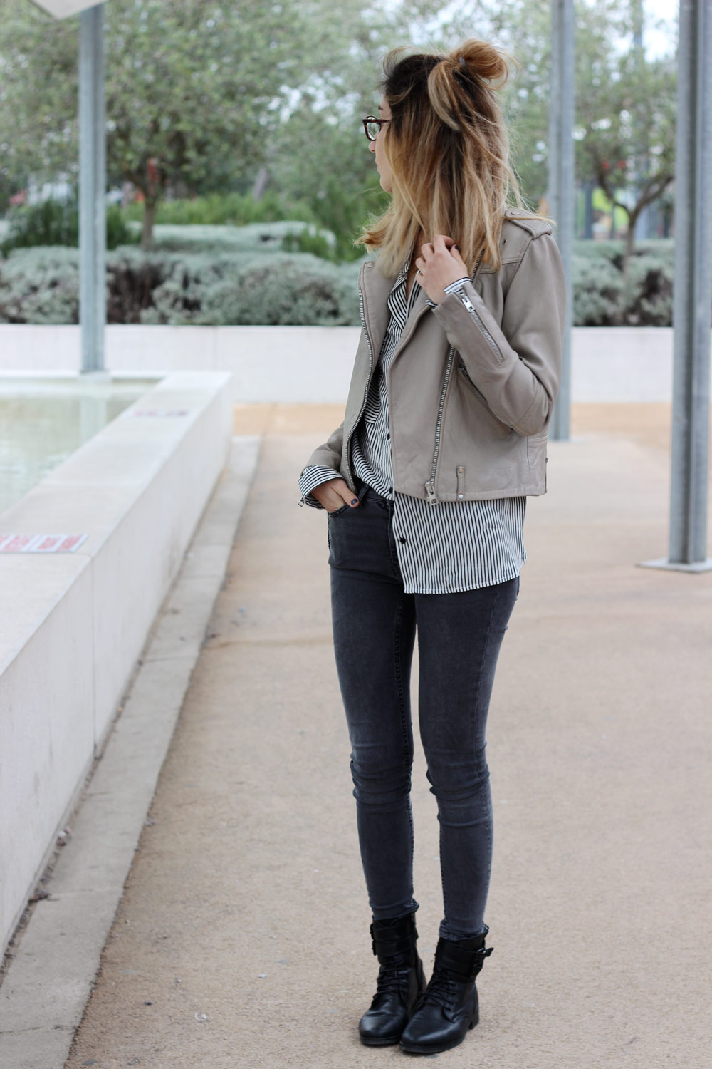 look-blog-mode-chemise-rayee-perfecto-nude