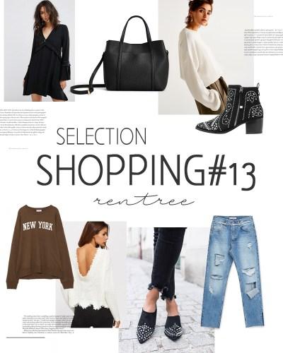 Sélection shopping #13 rentrée