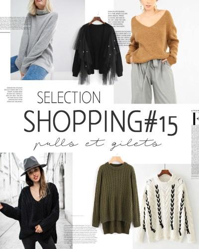 Sélection shopping #15 pulls et gilets