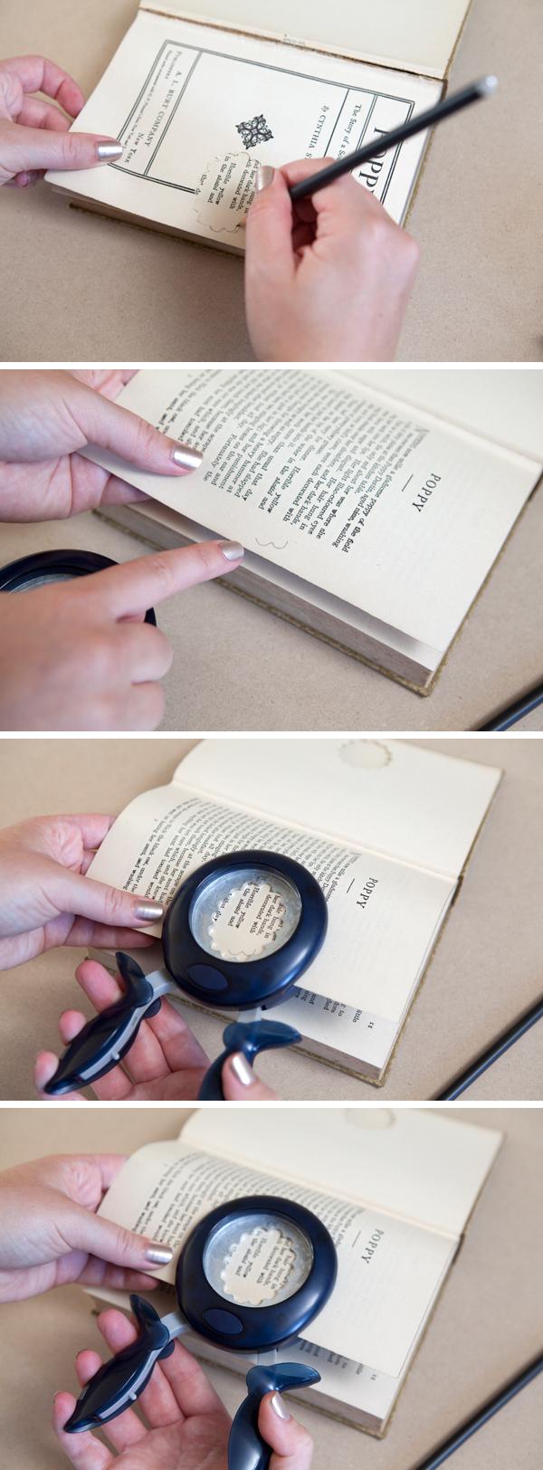 DIY wedding ring bearer book - Something Turquoise