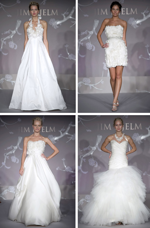 Jim Hjelm Fall 2011 Bridal Collection
