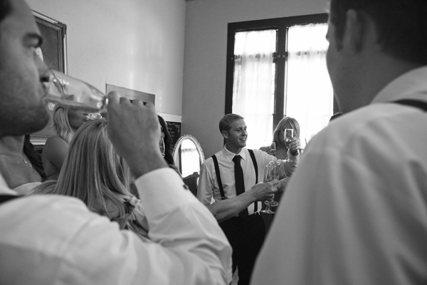 bridal party toast