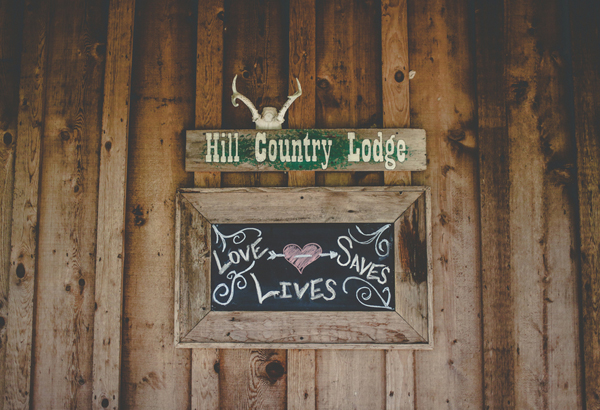 7F Lodge Wedding Texas