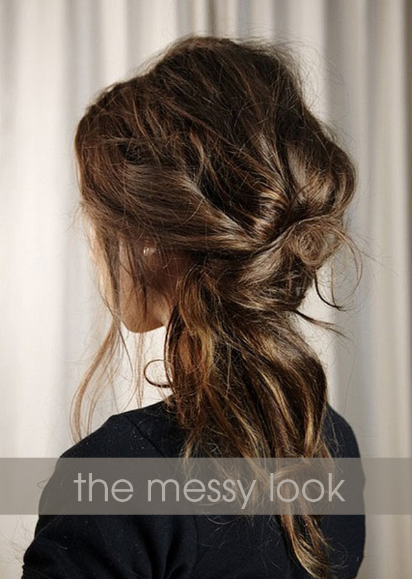 Wedding Hair The Messy Look Something Turquoise