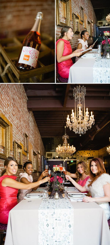 Bridal Shower Invitations Champagne