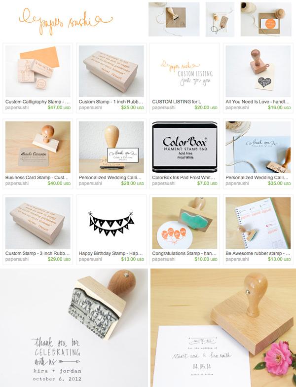 ST_Etsy_Wedding_Calligraphy_paper_sushi