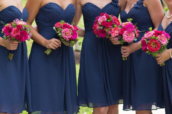 Navy blue and pink wedding images for Navy blue and pink wedding