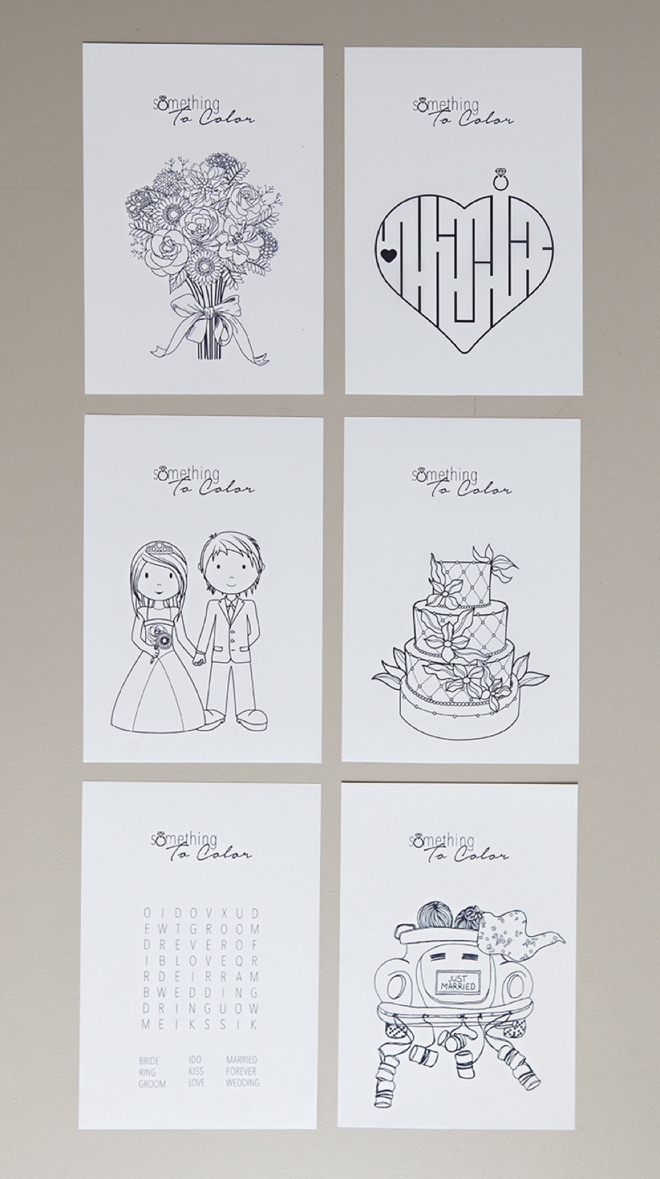 Diy Wedding Coloring Book Diy Wedding Colouring Book - Free ...