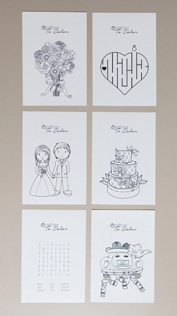 wedding coloring page # 13