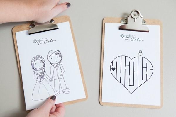 wedding coloring page # 20