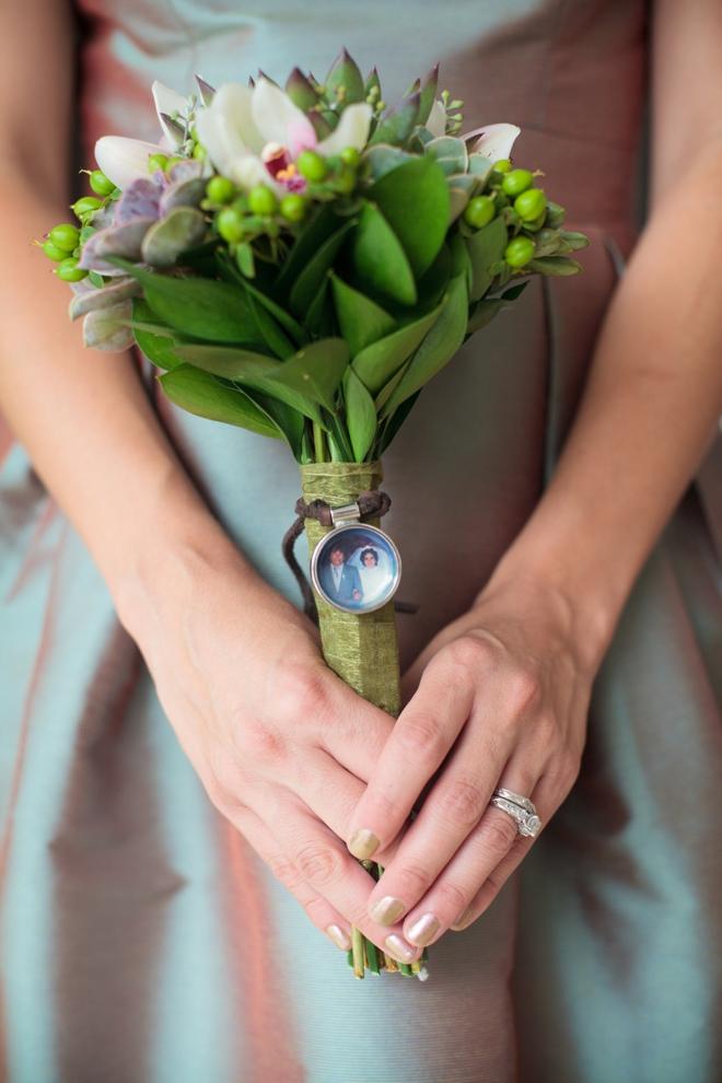 Bridesmaid succulent bouquet