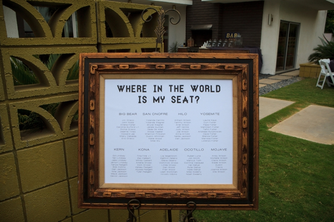 Where in the world is my seat?
