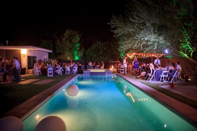 Casa Verona wedding in Palm Springs...