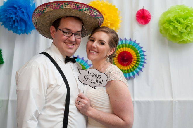 DIY Fiesta themed wedding!