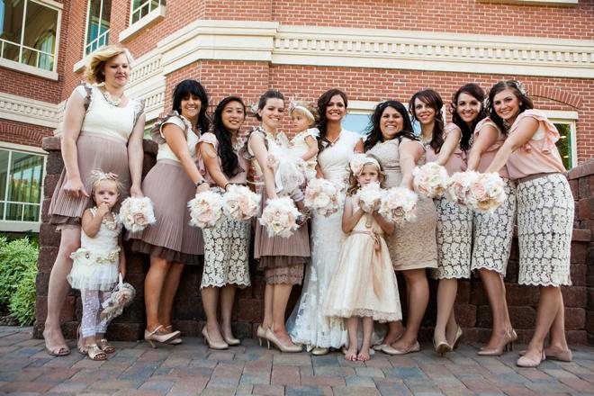 Gorgeous bridesmaids!