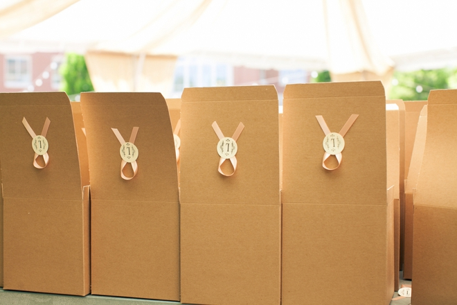 Candy bar favor boxes!